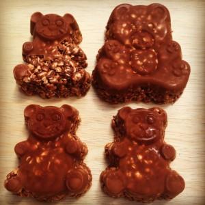 Healthier Chocolate Crackles robynpatton.com