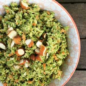 Raw Broccoli Salad robynpatton.com