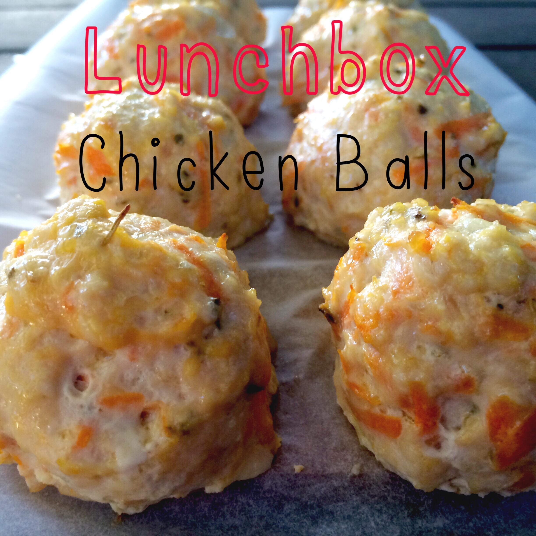 Lunchbox Chicken Balls