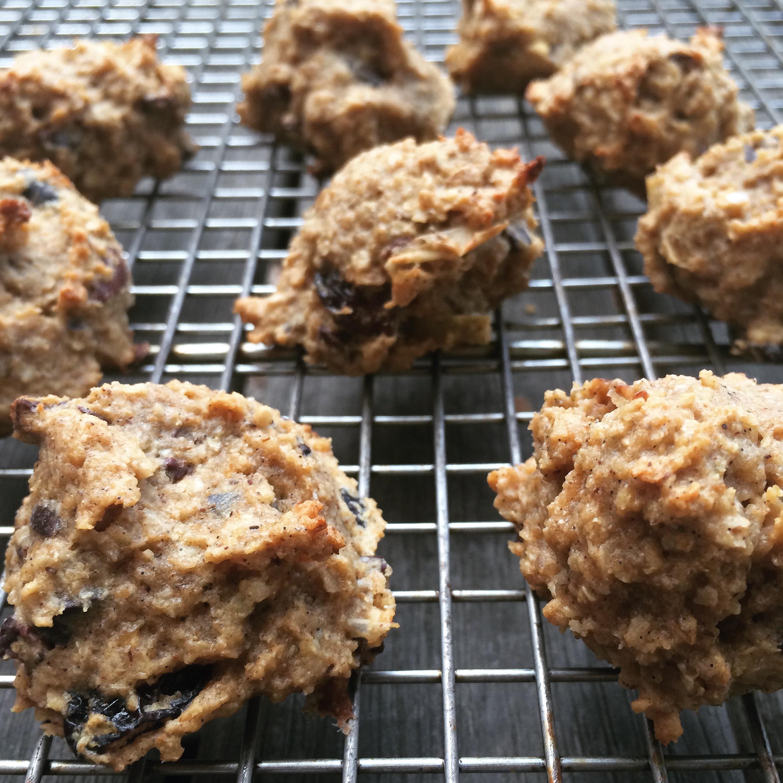 Choc Cranberry Breakfast Cookies