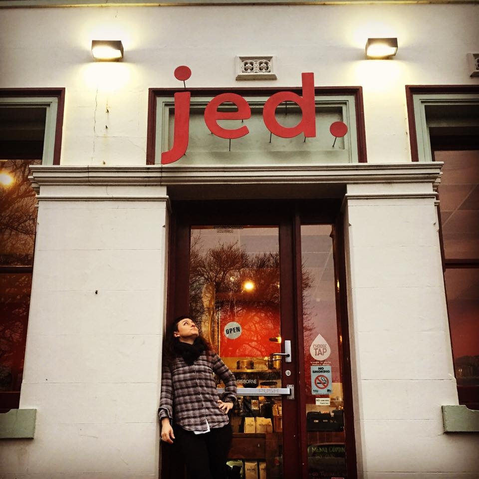 Inspirational Individuals – Jaq Goodyear, Jed Cafe
