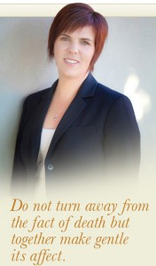 {Podcast} Inspirational Individuals - Libby Moloney Holistic Funeral Director robynpatton.com